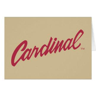 Cardenal de Stanford Felicitaciones