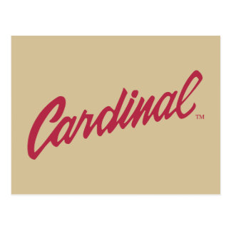 Cardenal de Stanford Tarjetas Postales