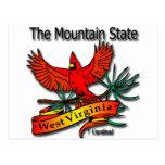Cardenal del estado de la montaña de Virginia Occi Postal