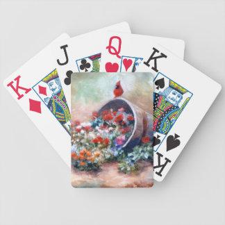 Cardenal el desbordar cartas de juego