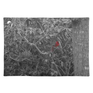 Cardenal en un árbol Placemats Manteles