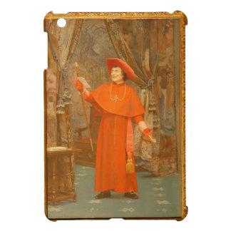 Cardenal leyendo una letra de Jean Jorte Vibert