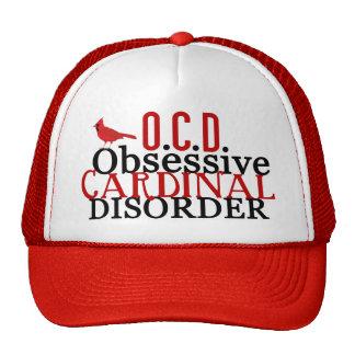 Cardenal obsesionado gorra