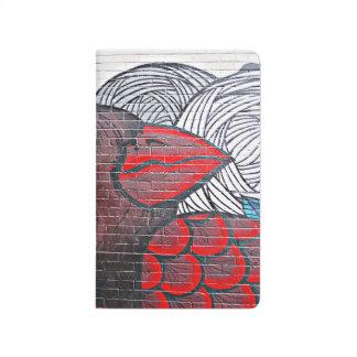 Cardenal rojo cuaderno