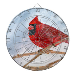 Cardenal rojo tablero de dardos