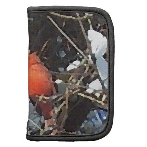 Cardenal rojo en arte cargado de la foto de los ár organizador