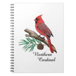 Cardenal septentrional notebook