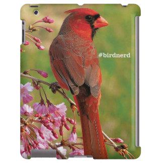 Cardenal septentrional funda para iPad