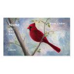 cardenal, tarjeta de visita