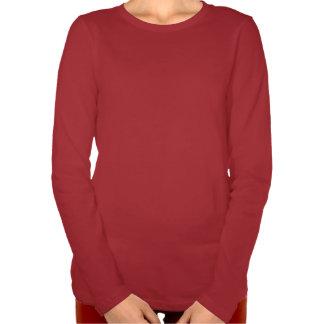Cardenal y Chickadee de la camiseta de las señoras