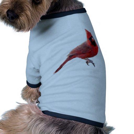 Cardenales Camiseta Con Mangas Para Perro