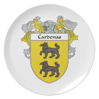 Cardenas Coat of Arms/Family Crest Plate