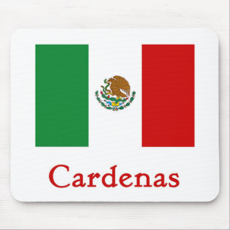 Cardenas Mexican Flag Mouse Pad