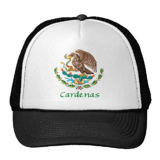 Cardenas Mexican National Seal Trucker Hat