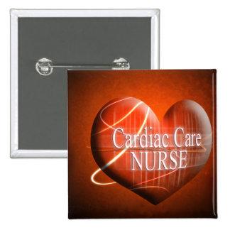 CARDIAC CARE (HEART) NURSE BUTTON