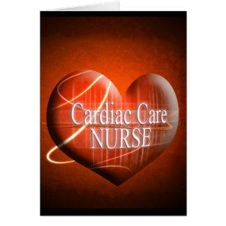 CARDIAC CARE (HEART) NURSE CARD