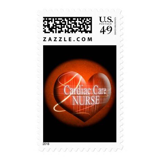 CARDIAC CARE (HEART) NURSE STAMP