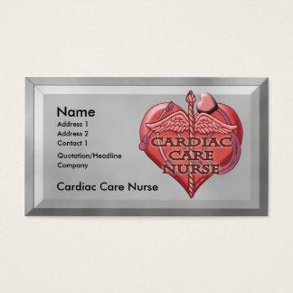 Cardiac Care Nurse Business Card