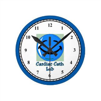 Cardiac Cath Lab HF Round Clock