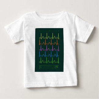 Cardiac Chevron Rainbow Baby T-Shirt