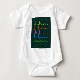 Cardiac Chevron Rainbow T Shirt