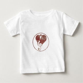 Cardiac ClefHeart Warn Baby T-Shirt