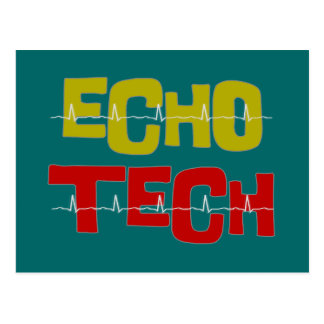 Cardiac Echo Tech gifts Postcard