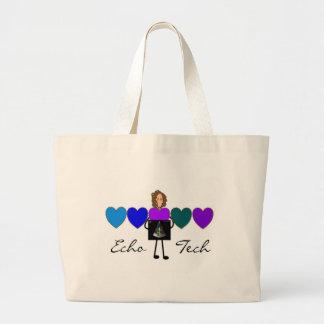 Cardiac Echo Technician Unique Gifts Tote Bags