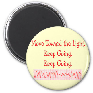 Cardiac/ER Nurse  Funny V-Fib Rhythm Strip Fridge Magnet