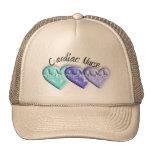 Cardiac Nurse 3D Blue Hearts Gifts Hat