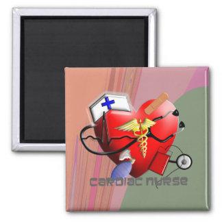 Cardiac Nurse Art Gifts Refrigerator Magnet