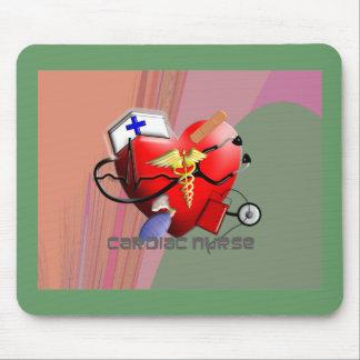 Cardiac Nurse Art Gifts Mouse Pad