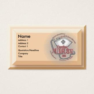 Cardiac Nurse Axiom Business Card