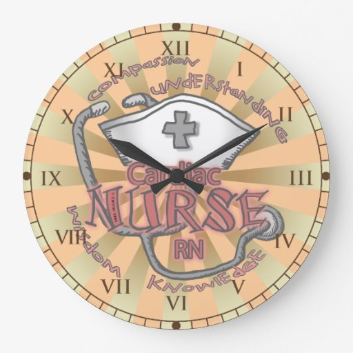 Cardiac Nurse Axiom Large Clock