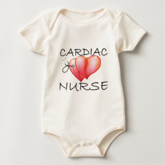 Cardiac Nurse Baby Bodysuit