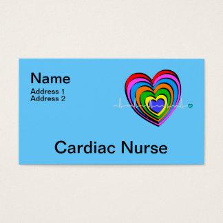 Cardiac Nurse Business Cards