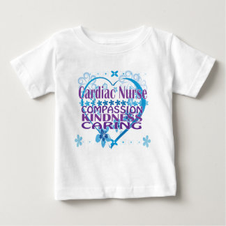 Cardiac Nurse- Compassion, Caring and Kindness! Baby T-Shirt