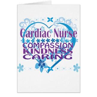 Cardiac Nurse- Compassion, Caring and Kindness! Card