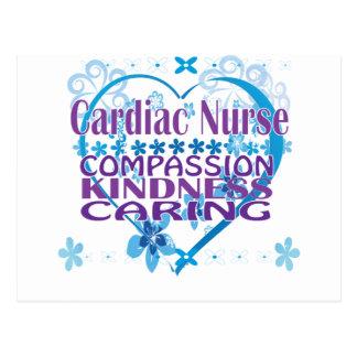 Cardiac Nurse- Compassion, Caring and Kindness! Postcard