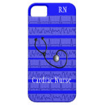 Cardiac Nurse Design iPhone 5 Barely There Case iPhone 5 Cover