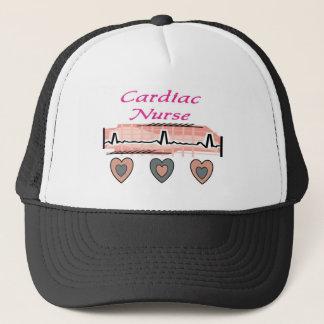 Cardiac Nurse EKG Paper Design Trucker Hat