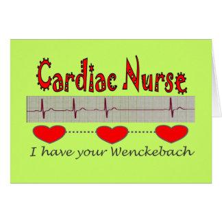 Cardiac Nurse Gifts Card