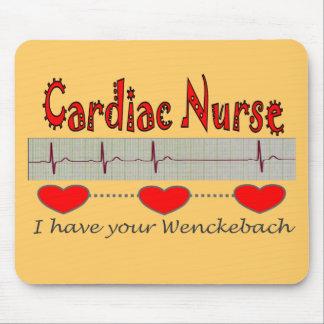 Cardiac Nurse Gifts Mouse Pad