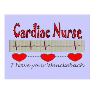 Cardiac Nurse Gifts Postcard