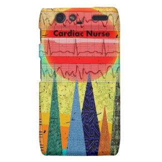 Cardiac Nurse Magical Forest Motorola Droid RAZR Case