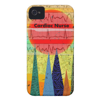 Cardiac Nurse Magical Forest iPhone 4 Case