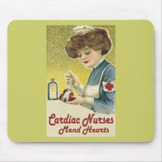 Cardiac Nurse Mend Hearts Mouse Pad