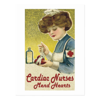 Cardiac Nurse Mend Hearts Postcard
