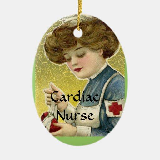 Cardiac Nurse Ornament