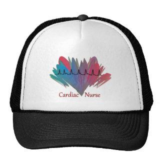 Cardiac Nurse QRS Design Trucker Hats